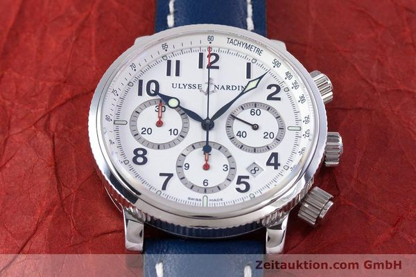 Used luxury watch Ulysse Nardin Marine Chronograph chronograph steel automatic Kal. UN-35-16-2129 Ref. 353-88  | 160234 16