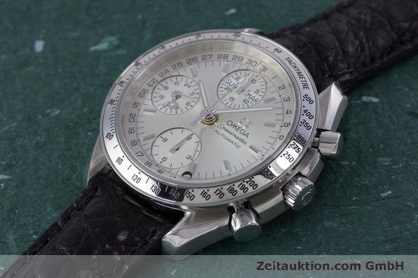 Used luxury watch Omega Speedmaster chronograph steel automatic Kal. 1151B  | 160246 01