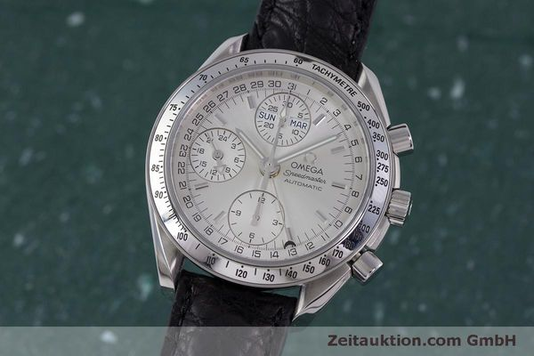 Used luxury watch Omega Speedmaster chronograph steel automatic Kal. 1151B  | 160246 04