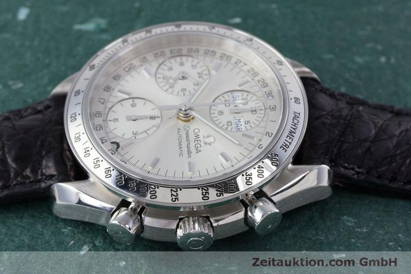 Used luxury watch Omega Speedmaster chronograph steel automatic Kal. 1151B  | 160246 05