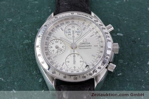 Used luxury watch Omega Speedmaster chronograph steel automatic Kal. 1151B  | 160246 16