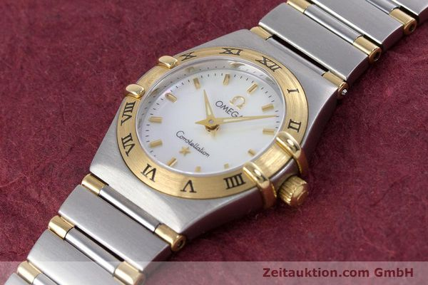 Used luxury watch Omega Constellation steel / gold quartz Kal. 1456 Ref. 13627000  | 160249 01