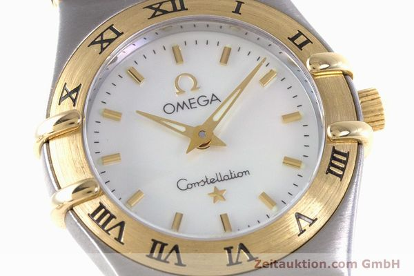 Used luxury watch Omega Constellation steel / gold quartz Kal. 1456 Ref. 13627000  | 160249 02