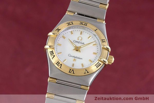 Used luxury watch Omega Constellation steel / gold quartz Kal. 1456 Ref. 13627000  | 160249 04