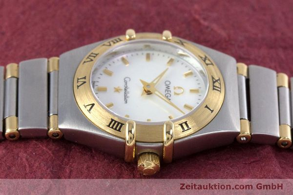 Used luxury watch Omega Constellation steel / gold quartz Kal. 1456 Ref. 13627000  | 160249 05