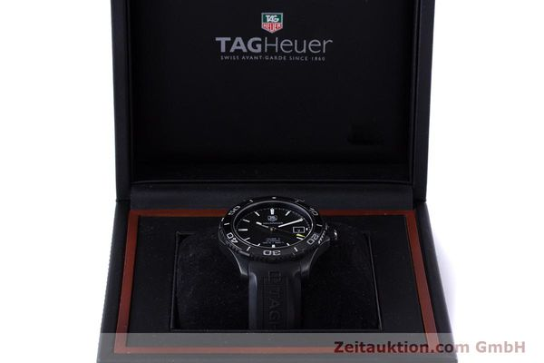 Used luxury watch Tag Heuer Aquaracer ceramic / titanium automatic Kal. 5 Sellita SW200-1 Ref. WAK2180  | 160267 07