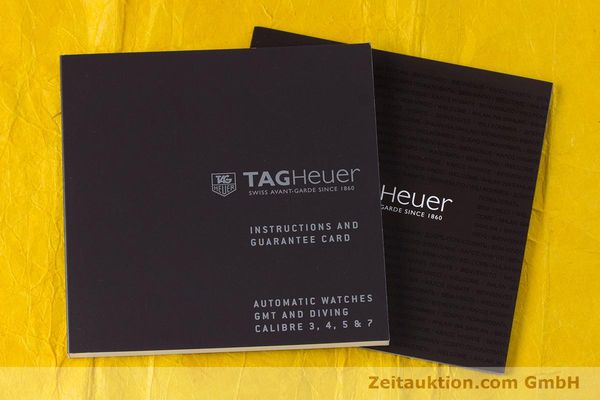 Used luxury watch Tag Heuer Aquaracer ceramic / titanium automatic Kal. 5 Sellita SW200-1 Ref. WAK2180  | 160267 14