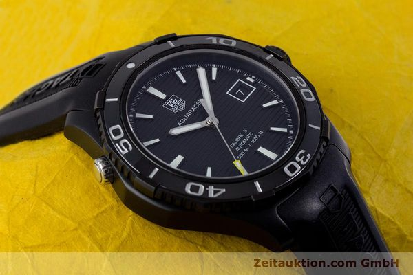 Used luxury watch Tag Heuer Aquaracer ceramic / titanium automatic Kal. 5 Sellita SW200-1 Ref. WAK2180  | 160267 17