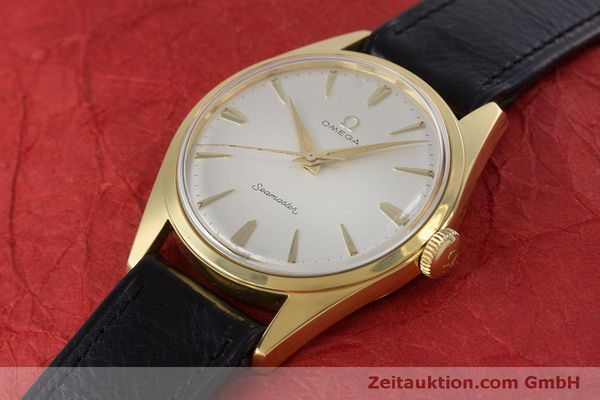 Used luxury watch Omega Seamaster gold-plated manual winding Kal. 285  | 160269 01