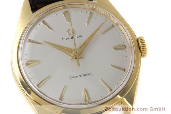 Used luxury watch Omega Seamaster gold-plated manual winding Kal. 285  | 160269 02