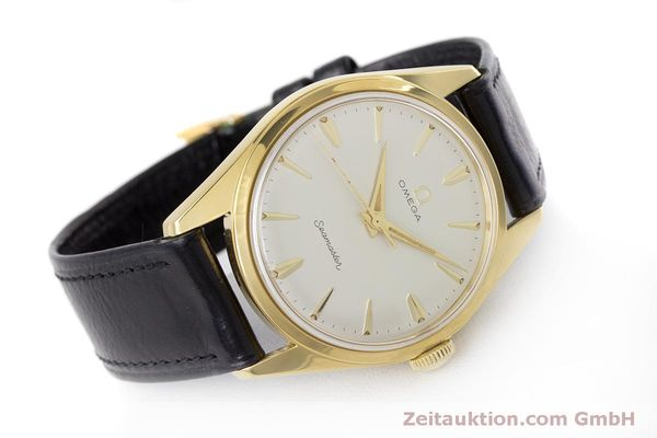 Used luxury watch Omega Seamaster gold-plated manual winding Kal. 285  | 160269 03