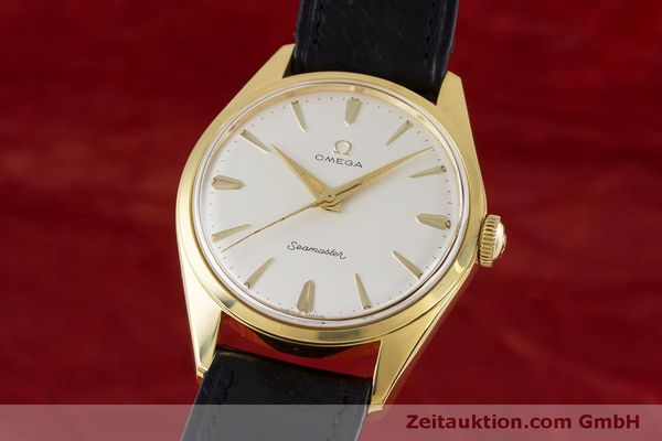 Used luxury watch Omega Seamaster gold-plated manual winding Kal. 285  | 160269 04