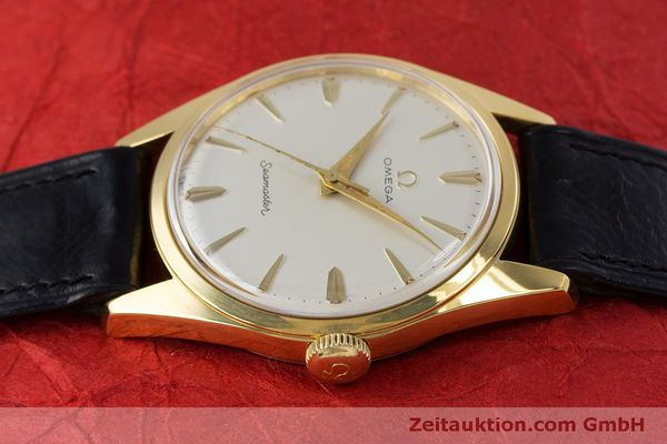 Used luxury watch Omega Seamaster gold-plated manual winding Kal. 285  | 160269 05
