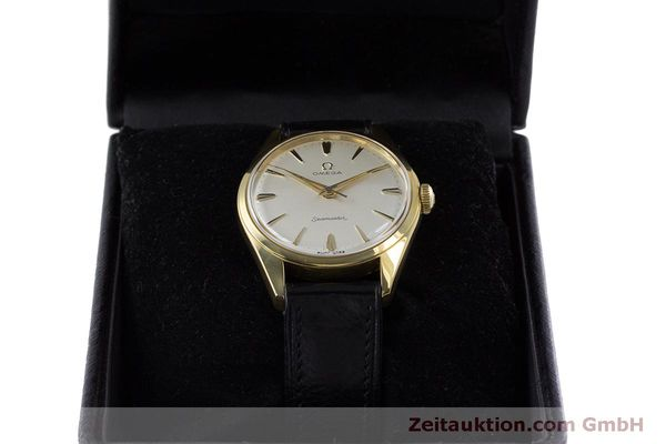 Used luxury watch Omega Seamaster gold-plated manual winding Kal. 285  | 160269 07