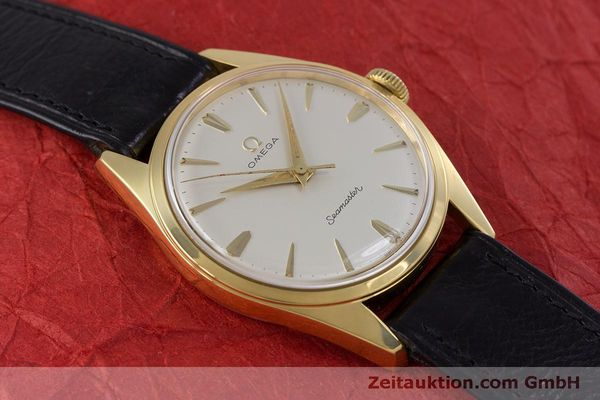 Used luxury watch Omega Seamaster gold-plated manual winding Kal. 285  | 160269 14