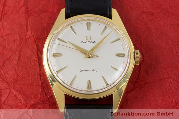Used luxury watch Omega Seamaster gold-plated manual winding Kal. 285  | 160269 15