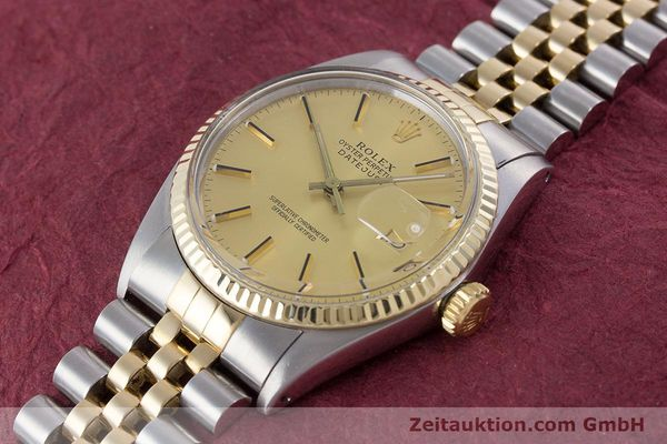 Used luxury watch Rolex Datejust steel / gold automatic Kal. 3035 Ref. 16013  | 160275 01