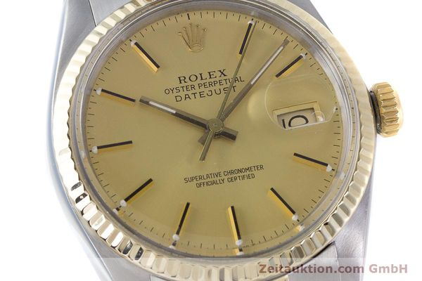 Used luxury watch Rolex Datejust steel / gold automatic Kal. 3035 Ref. 16013  | 160275 02