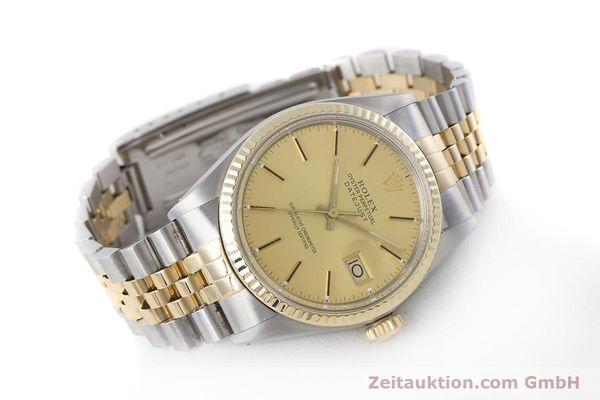 Used luxury watch Rolex Datejust steel / gold automatic Kal. 3035 Ref. 16013  | 160275 03