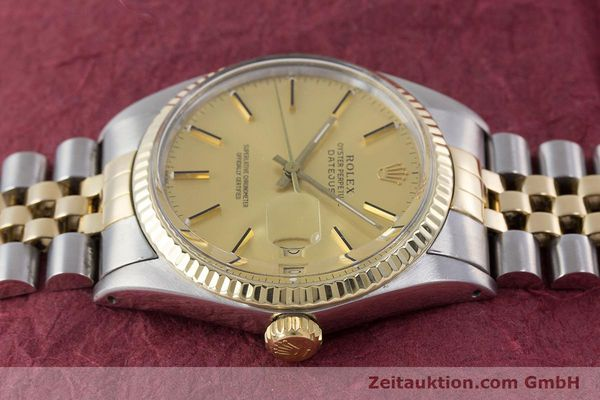 Used luxury watch Rolex Datejust steel / gold automatic Kal. 3035 Ref. 16013  | 160275 05