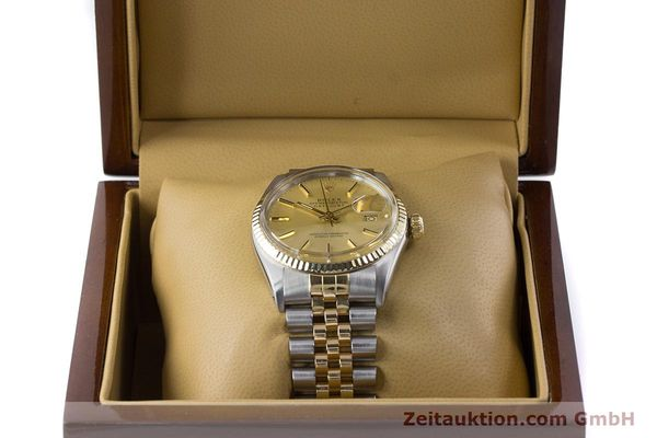 Used luxury watch Rolex Datejust steel / gold automatic Kal. 3035 Ref. 16013  | 160275 07