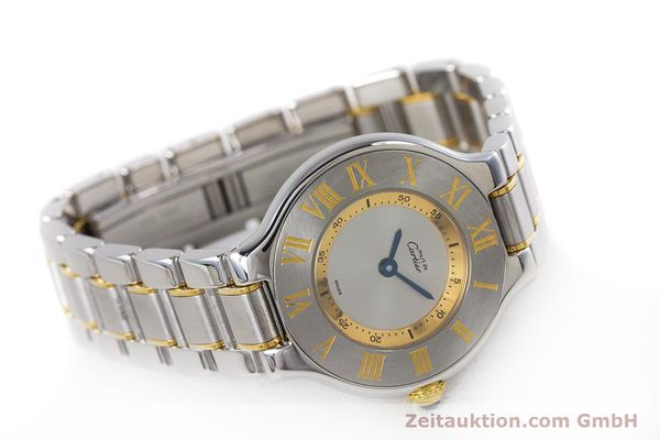 Used luxury watch Cartier Ronde Solo steel / gold quartz Kal. 90.06 Ref. 1340  | 160281 03