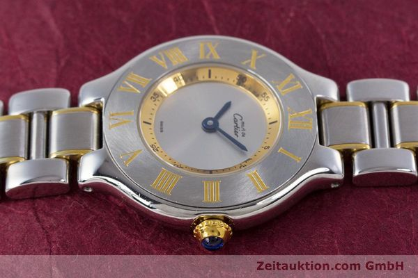 Used luxury watch Cartier Ronde Solo steel / gold quartz Kal. 90.06 Ref. 1340  | 160281 05
