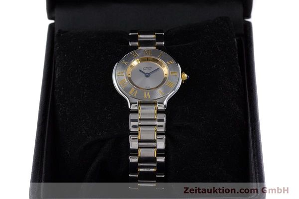 Used luxury watch Cartier Ronde Solo steel / gold quartz Kal. 90.06 Ref. 1340  | 160281 07