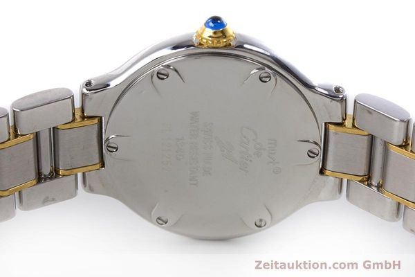 Used luxury watch Cartier Ronde Solo steel / gold quartz Kal. 90.06 Ref. 1340  | 160281 09