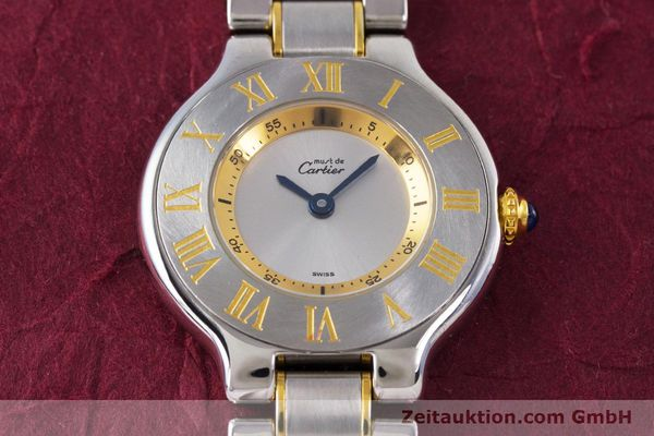 Used luxury watch Cartier Ronde Solo steel / gold quartz Kal. 90.06 Ref. 1340  | 160281 14