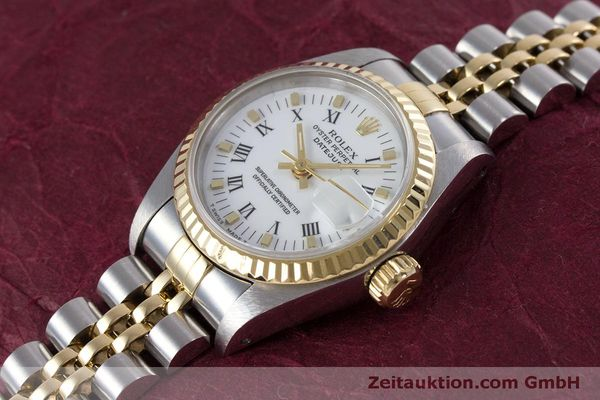 Used luxury watch Rolex Lady Datejust steel / gold automatic Kal. 2135 Ref. 69173  | 160285 01