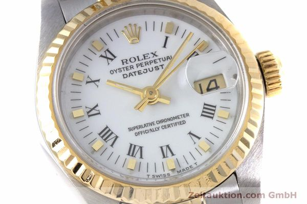 Used luxury watch Rolex Lady Datejust steel / gold automatic Kal. 2135 Ref. 69173  | 160285 02