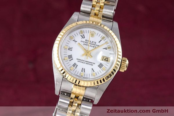 Used luxury watch Rolex Lady Datejust steel / gold automatic Kal. 2135 Ref. 69173  | 160285 04