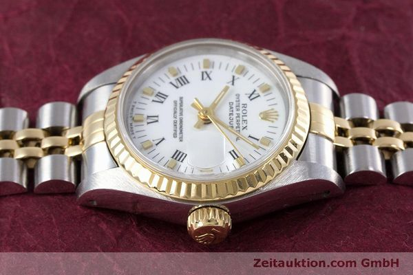Used luxury watch Rolex Lady Datejust steel / gold automatic Kal. 2135 Ref. 69173  | 160285 05