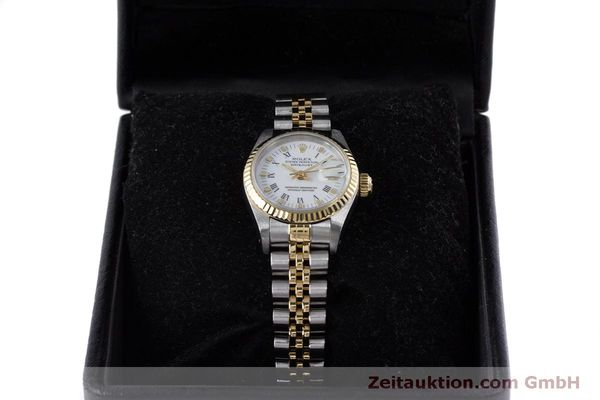 Used luxury watch Rolex Lady Datejust steel / gold automatic Kal. 2135 Ref. 69173  | 160285 07