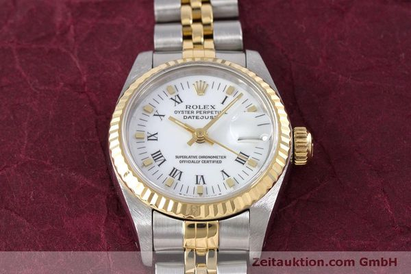 Used luxury watch Rolex Lady Datejust steel / gold automatic Kal. 2135 Ref. 69173  | 160285 15
