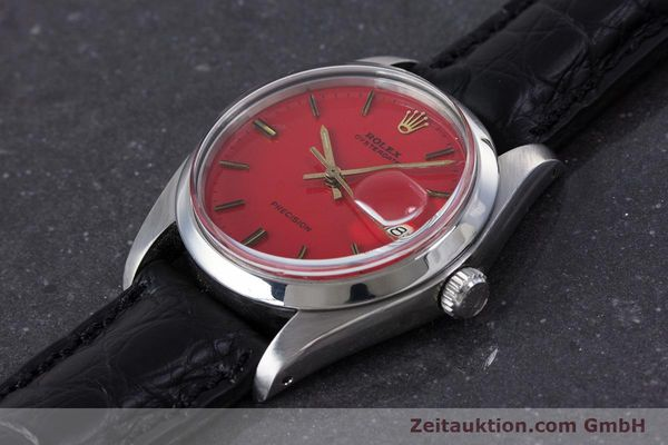 Used luxury watch Rolex Precision steel manual winding Kal. 1225 Ref. 6694 VINTAGE  | 160291 01