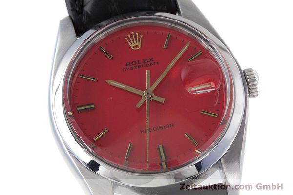 Used luxury watch Rolex Precision steel manual winding Kal. 1225 Ref. 6694 VINTAGE  | 160291 02