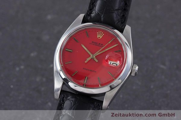 Used luxury watch Rolex Precision steel manual winding Kal. 1225 Ref. 6694 VINTAGE  | 160291 04