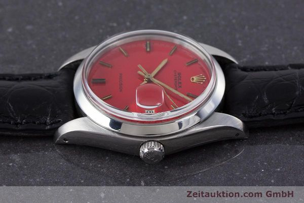 Used luxury watch Rolex Precision steel manual winding Kal. 1225 Ref. 6694 VINTAGE  | 160291 05