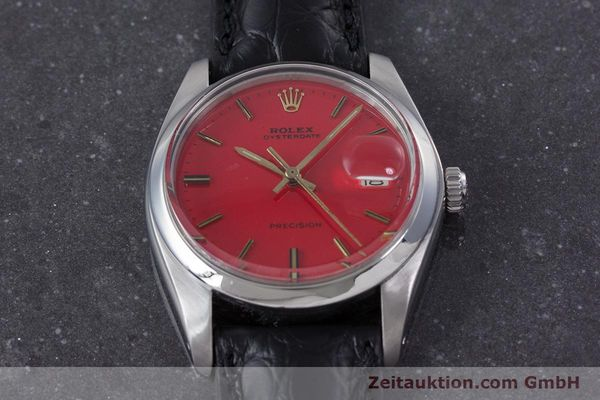 Used luxury watch Rolex Precision steel manual winding Kal. 1225 Ref. 6694 VINTAGE  | 160291 14