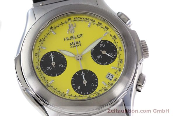 Used luxury watch Hublot MDM chronograph steel automatic Kal. ETA 2892A2 Ref. 1810.1  | 160293 02