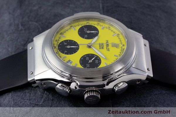Used luxury watch Hublot MDM chronograph steel automatic Kal. ETA 2892A2 Ref. 1810.1  | 160293 05