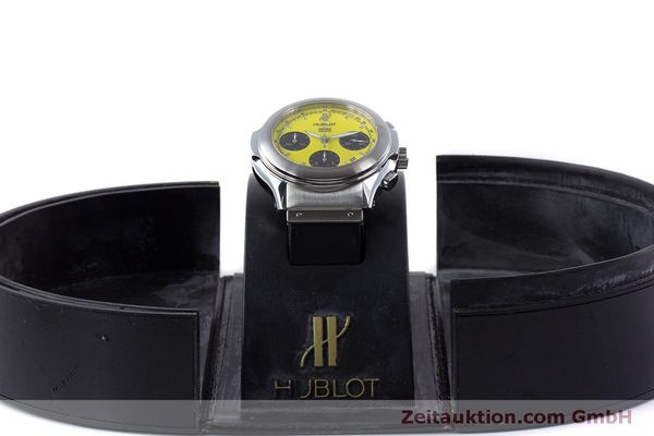 Used luxury watch Hublot MDM chronograph steel automatic Kal. ETA 2892A2 Ref. 1810.1  | 160293 07