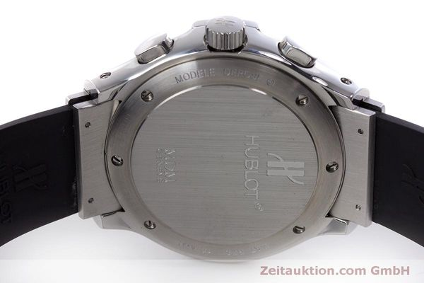 Used luxury watch Hublot MDM chronograph steel automatic Kal. ETA 2892A2 Ref. 1810.1  | 160293 09
