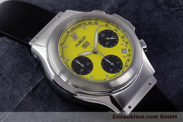Used luxury watch Hublot MDM chronograph steel automatic Kal. ETA 2892A2 Ref. 1810.1  | 160293 14