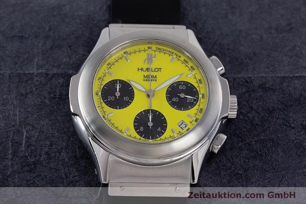 Used luxury watch Hublot MDM chronograph steel automatic Kal. ETA 2892A2 Ref. 1810.1  | 160293 15