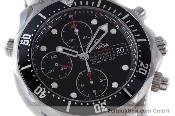Used luxury watch Omega Seamaster chronograph steel automatic Kal. 1164  | 160296 02