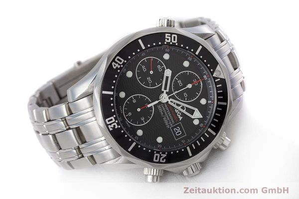Used luxury watch Omega Seamaster chronograph steel automatic Kal. 1164  | 160296 03