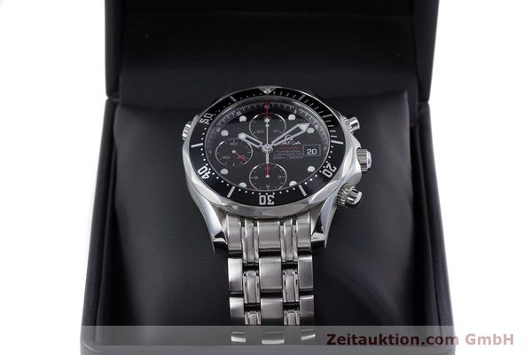 Used luxury watch Omega Seamaster chronograph steel automatic Kal. 1164  | 160296 07